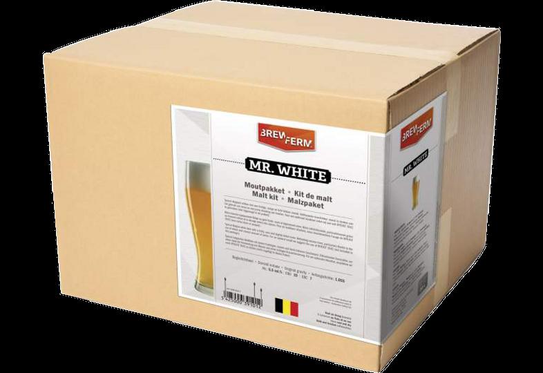 Kit ricette per tutti i grani - Kit de malt tout grain Brewferm Mr. White
