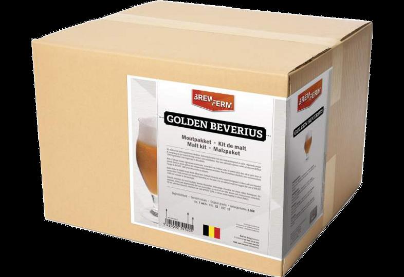 Kit à bière tout grain - Kit de malt tout grain Brewferm Golden Beverius
