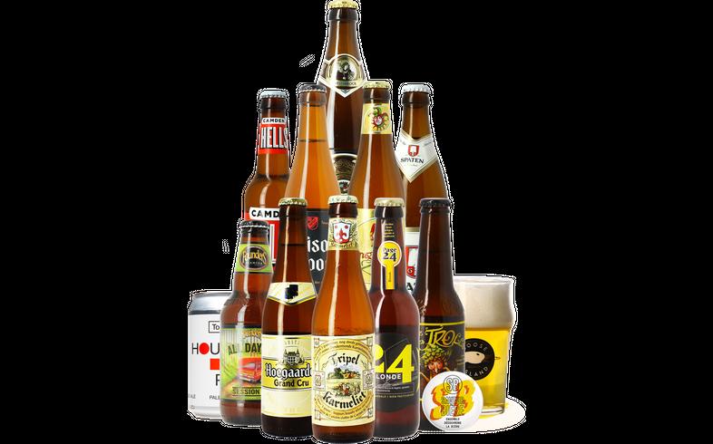HOPT biergeschenken - Blond Bier Pakket (11 bieren)