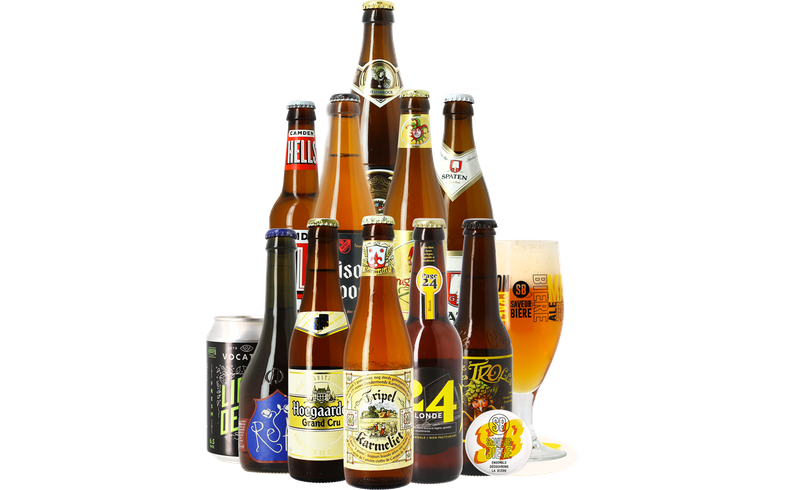 Saveur Bière gift box - The Platinum Blonde Collection