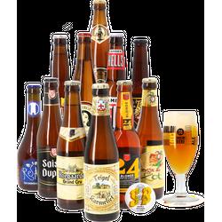 HOPT biergeschenken - Blond Bier Pakket (11 bieren + 1 glas)