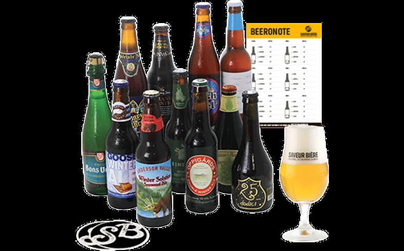 Coffrets Saveur Bière - Coffret Bières d'Hiver