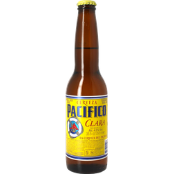 Bottled beer - Pacifico Clara