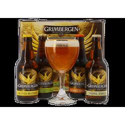 Accessori e regali - Cofanetto Grimbergen Discovery - 4 birre ed 1 bicchiere