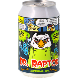 Bottled beer - Het Uiltje Dr. Raptor