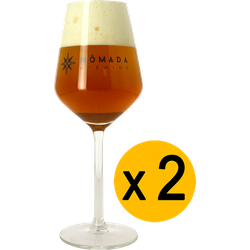 Ölglas - 2 Glases Nómada - 30 cl