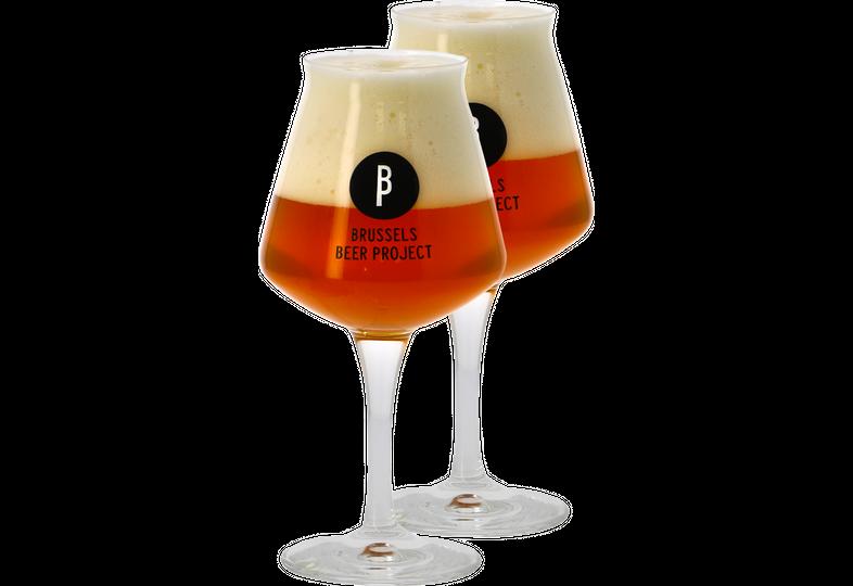 Verres à bière - Pack 2 Verres Teku Brussels Beer Project - 33 cl