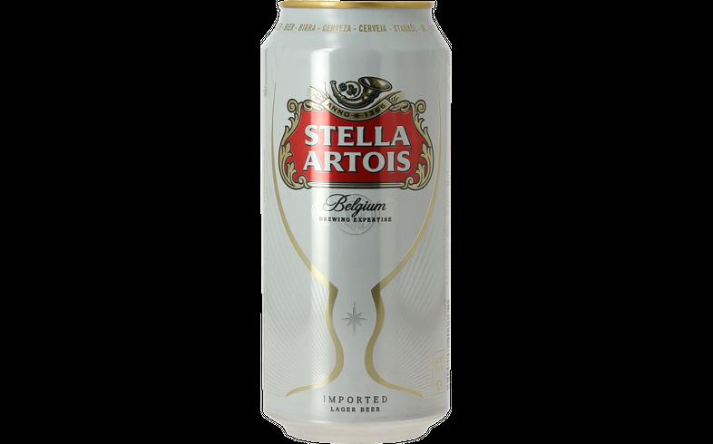 Flessen - Stella Artois Blik 44 cl