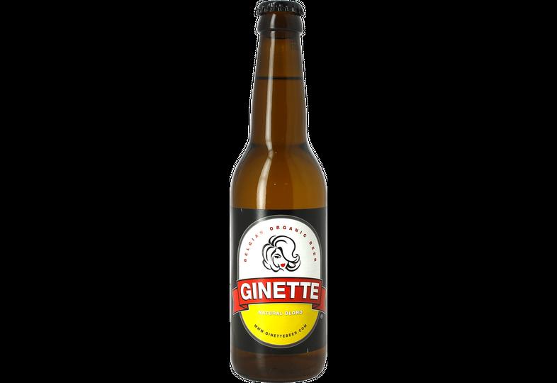 Bottled beer - Ginette Natural Blonde Bio