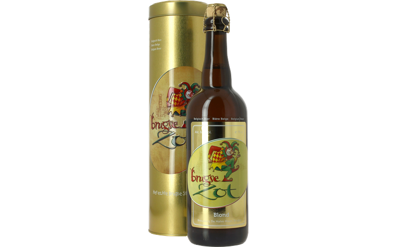 Bottled beer - Brugse Zot 75cl with Collectors' Presentation Tin