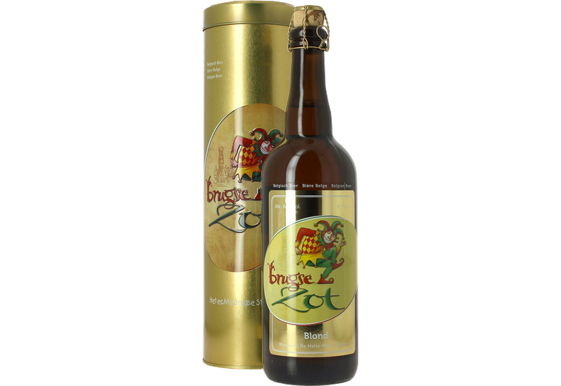 Botellas - Tube Métal Brugse Zot 75cl