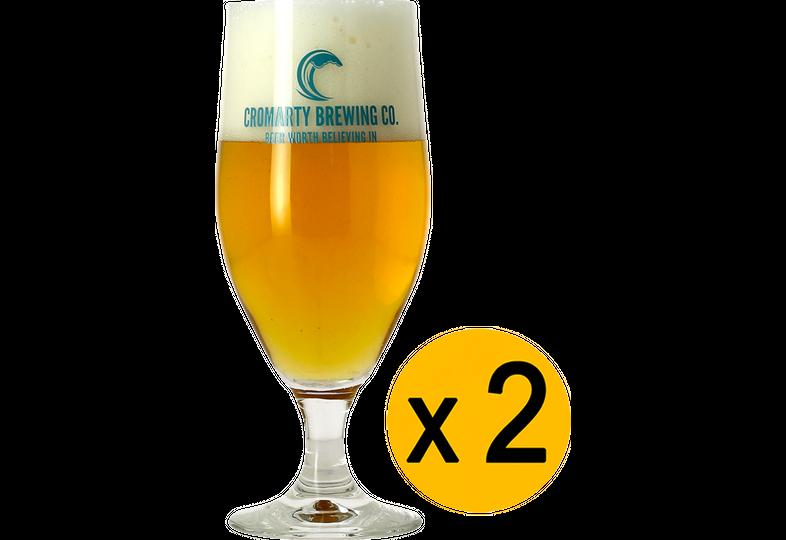 Ölglas - Pack 2 Verres Cromarty - 33 cl