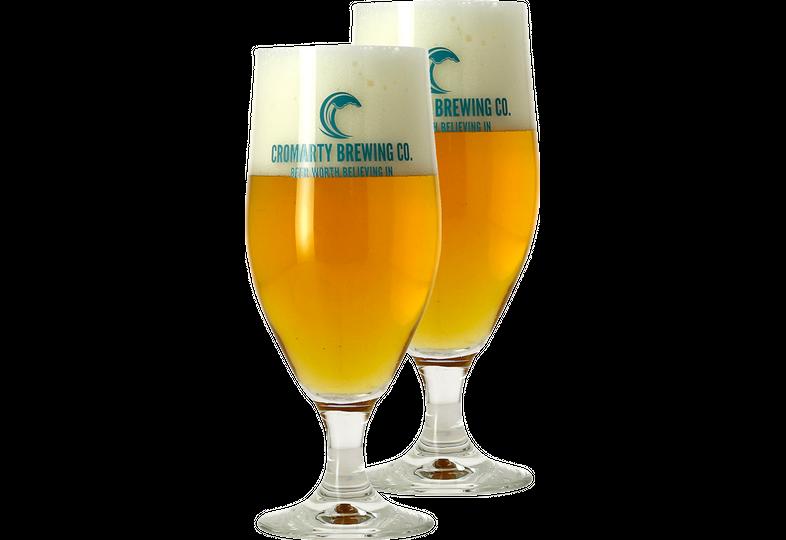 Verres à bière - Pack 2 Verres Cromarty - 33 cl