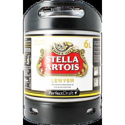 Fûts de bière - Fût 6L Stella Artois