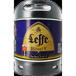Fûts de bière - Fût 6L Leffe Rituel 9°