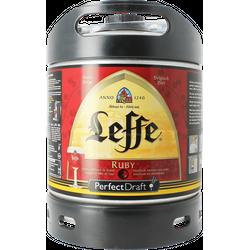 Fûts de bière - Fût 6L Leffe Ruby