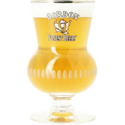 Beer glasses - glass Gordon Finest Beers - 33cl