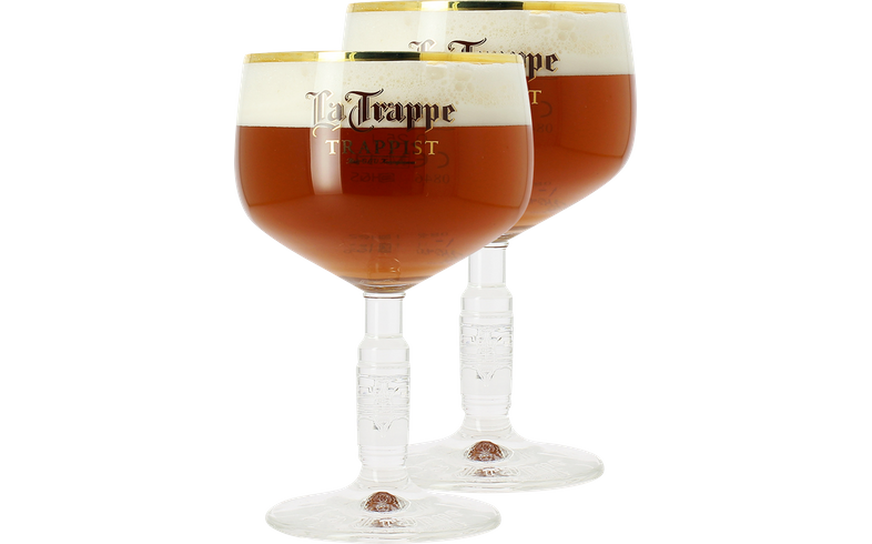 Verres à bière - Pack 2 Verres La Trappe - 25cl