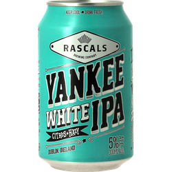 Bottled beer - Rascals Yankee White IPA