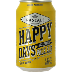 Bottled beer - Rascals Happy Days Session Pale Ale