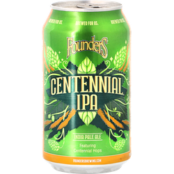 Bouteilles - Founders Centennial IPA - Can