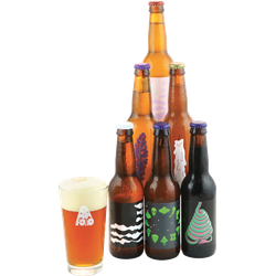 Accessoires et cadeaux - Assortiment Omnipollo - 6 bières - 1 verre