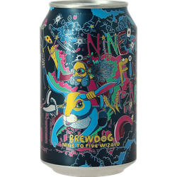 Bottled beer - BrewDog Nine to Five Wizard