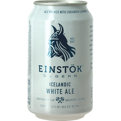 Bouteilles - Icelandic White Ale Canette