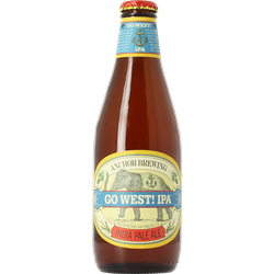 Bouteilles - Anchor Go West IPA