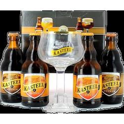 Coffrets et cadeaux - Coffret Kasteel (4 bières 1 verre)