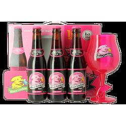 Coffrets et cadeaux - Coffret Rince Cochon Rouge (3 bières 1 verre)