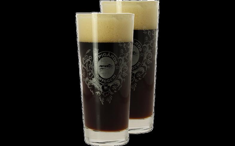 Verres à bière - Pack 2 Verres Oppigårds - 25 cl