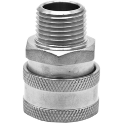 "Accessoires du brasseur - Female Stainless Quick Disconnect x Male 1/2"" NTP"