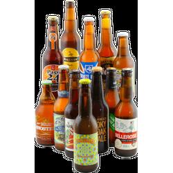 """Accessoires et cadeaux - Assortiment """" French touch, 12 bières françaises"""""""