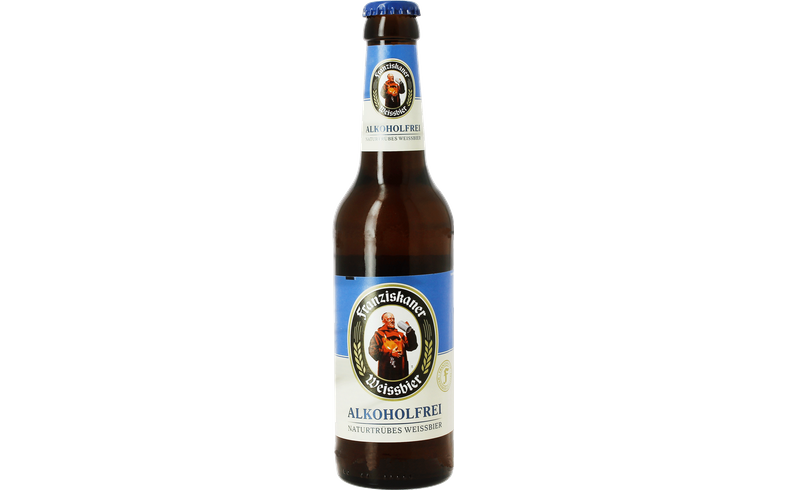 Bouteilles - Franziskaner Hefe-Weissbier Alkoholfrei