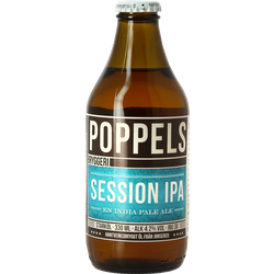 Bottled beer - Poppels Session IPA