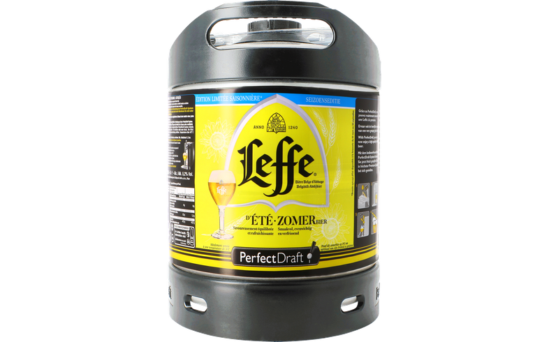 Fässer - Leffe Sommerbier PerfectDraft Fass 6 Liter - Mehrweg