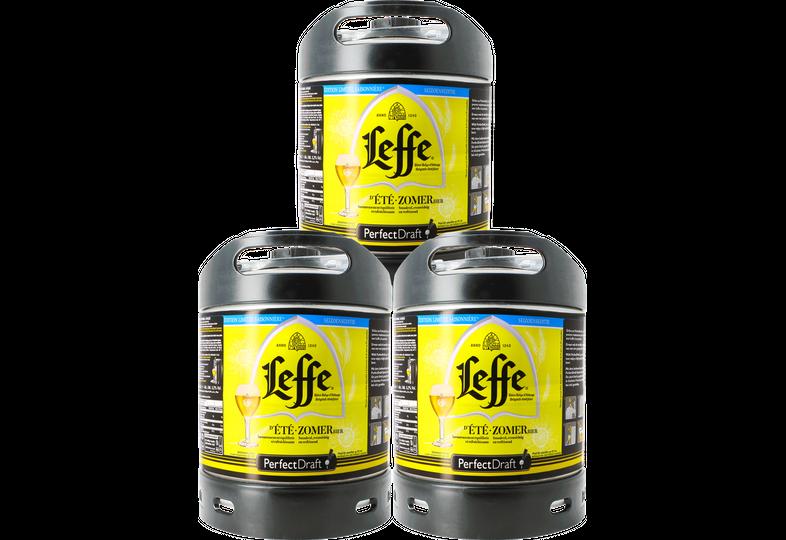 Kegs - Leffe d'Été Zomerbier 6 litre PerfectDraft keg - 3 Pack