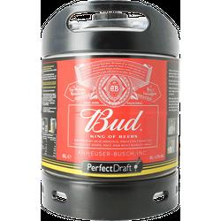 Kegs - Budweiser Bud PerfectDraft 6-litre Keg