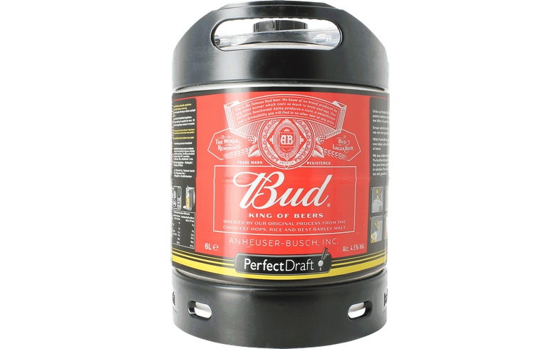 Barriles - Barril Budweiser Bud PerfectDraft 6 L