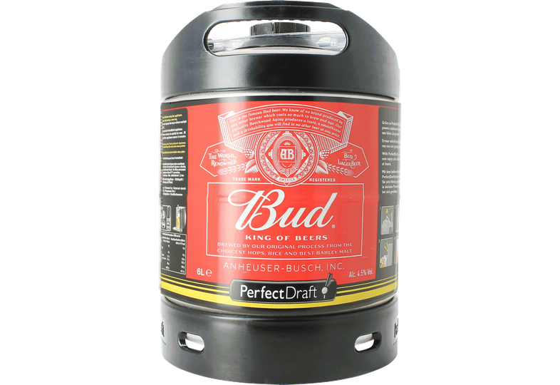 Fatöl - Budweiser Bud 6L PerfectDraft Fat