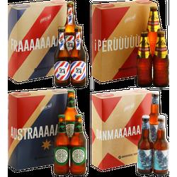 HOPT biergeschenken - 4 Country Pack