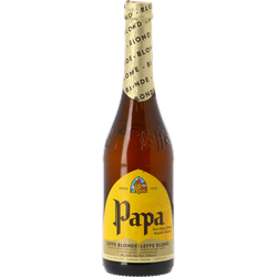 Flaskor - Leffe Blond Papa - Limited Edition 75cl