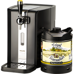 Thuistap - Tripel Karmeliet PerfectDraft 6L + Machine deal