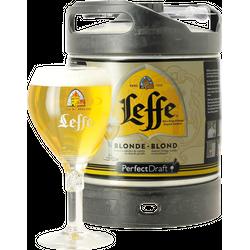 Fûts de bière - Fût 6L Leffe + 1 verre de 33 cl
