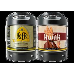 Fusti - Fusto Leffe Blonde e Kwak PerfectDraft 6L - 2-Pack