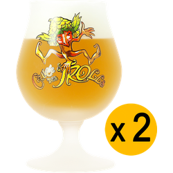 Bicchieri - 2 Bicchieres Cuvée des Trolls - 25cl
