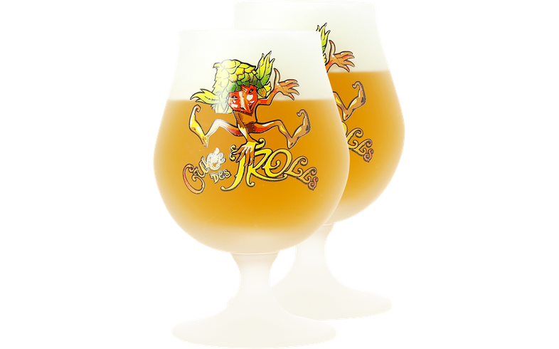 Biergläser - Pack 2x 25cl Cuvée des Trolls Gläser