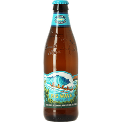 Bottled beer - Kona Brewing Big Wave Golden Ale