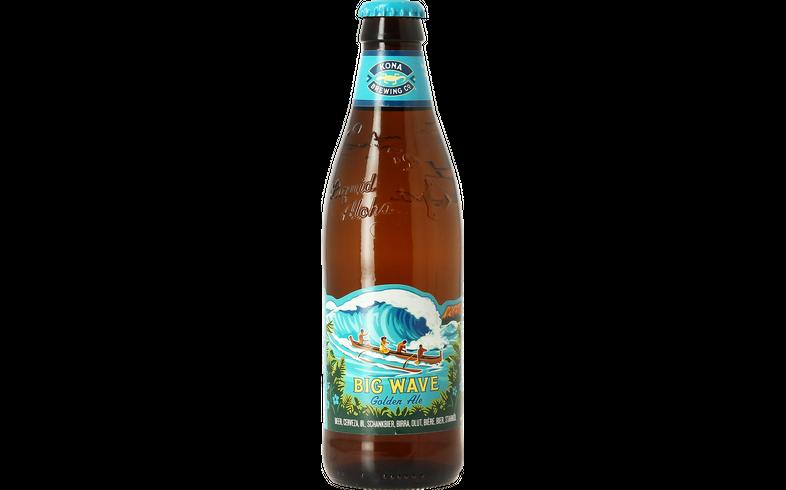 Bottled beer - Kona Brewing Big Wave Golden Ale